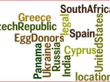 Legal Locations for Egg Donors