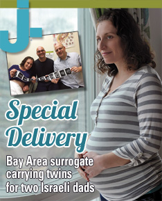 Special Delivery: Bay Area surrogate carrying twins for two Israeli dads
